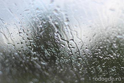 шел дождь печали