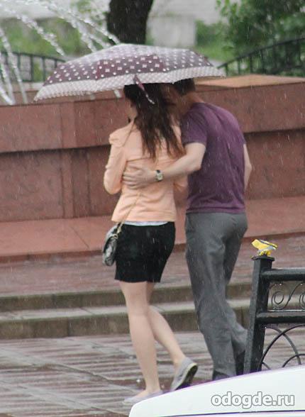 Под сентябрьским дождем