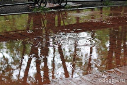 Эпитеты к слову «дождь»