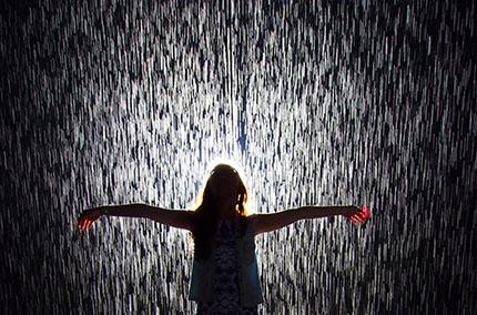 часто идет дождь