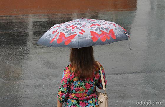 прекрасный дождь и девушка