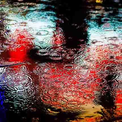 радующий дождь