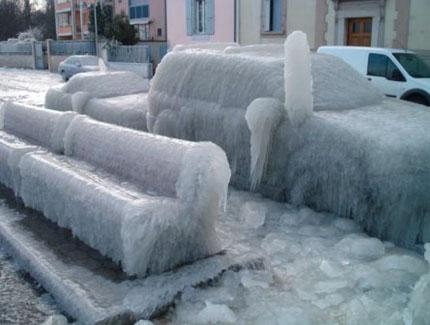 опасность ледяного дождя