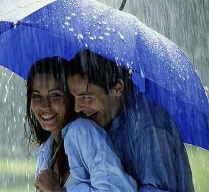 """они любили дождь и фильм """"Поцелуй дождя"""""""