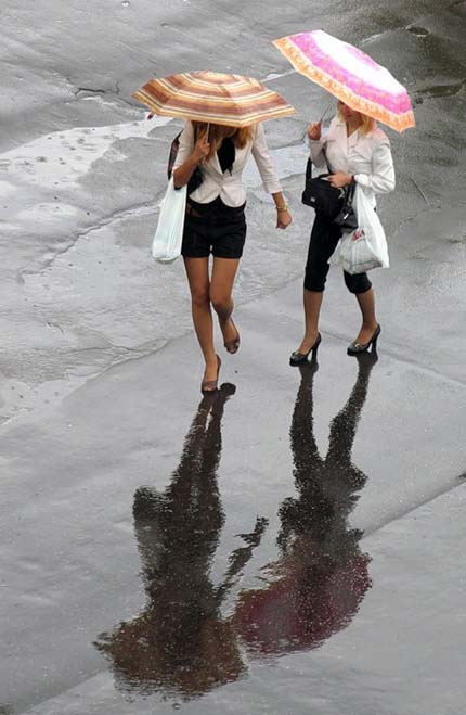 дождь для женщин