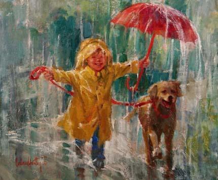 дождь и детство