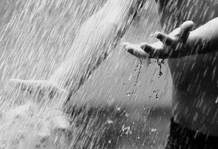дождь белого цвета