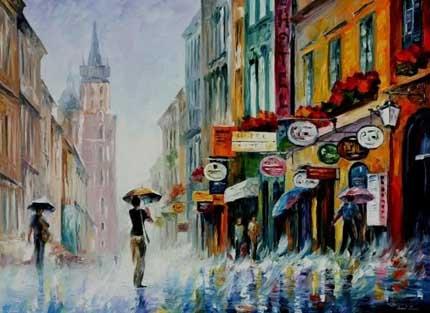 музыка под дождём