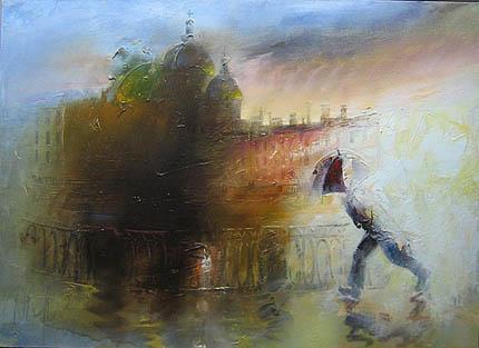 Дождь картина