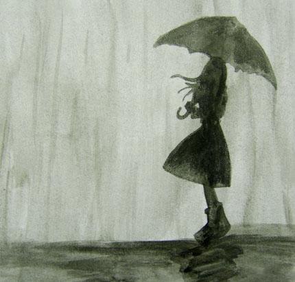 Темный дождь