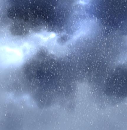 дождь и гром