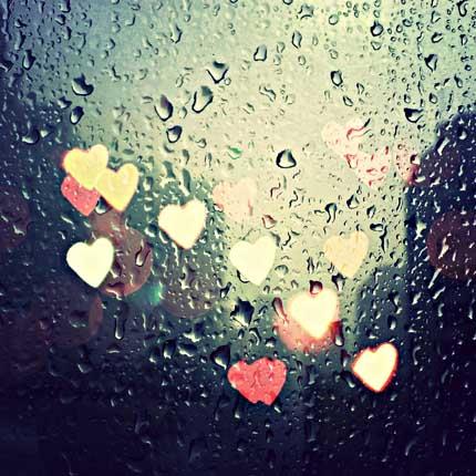 дождь  в художественном стиле