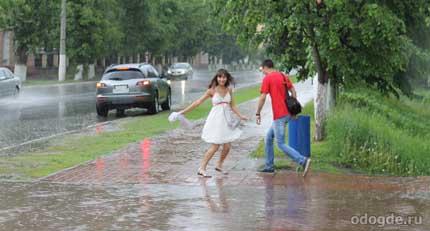 Влияние дождя на эмоции человека