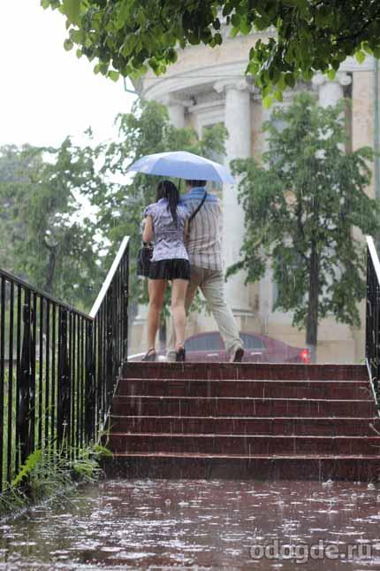 этюд под дождем