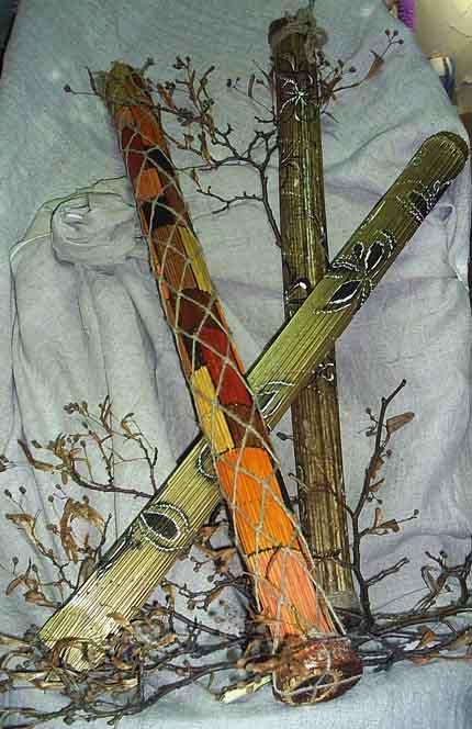 Посох дождя, флейта дождя, рейнстик