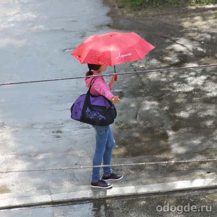 перед дождем