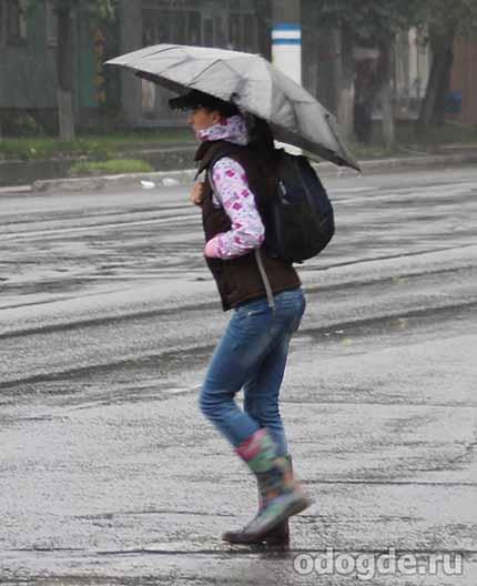 Парень по имени Дождь