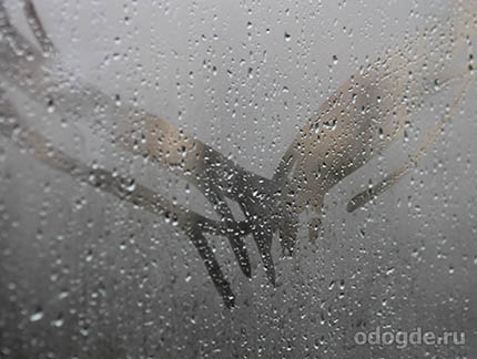 пальцы и дождь