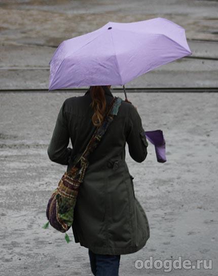 дух дождя давал ей силы