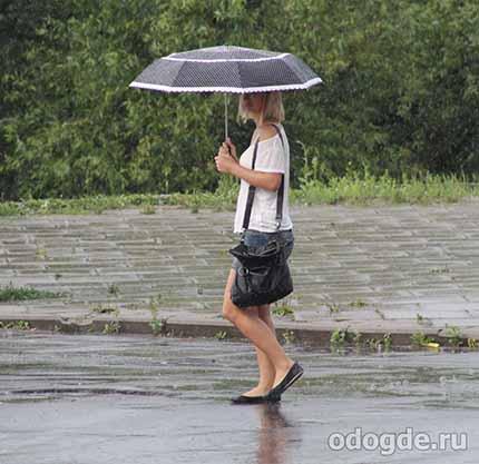 за нее плакал дождь