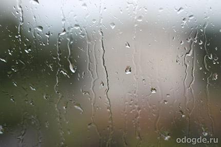 девочка рисует дождь