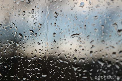 Дождь медленно шел по своим делам