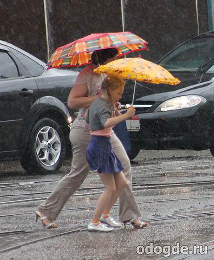 Почему дождь идет - детское мнение