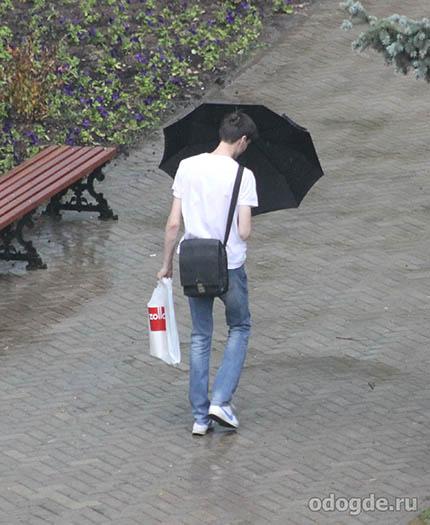 случай под летним дождем