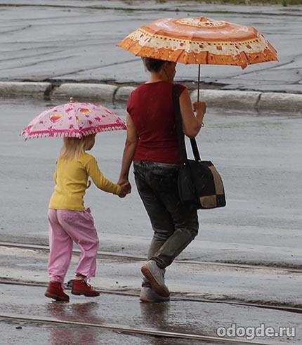 Рассказ о дожде