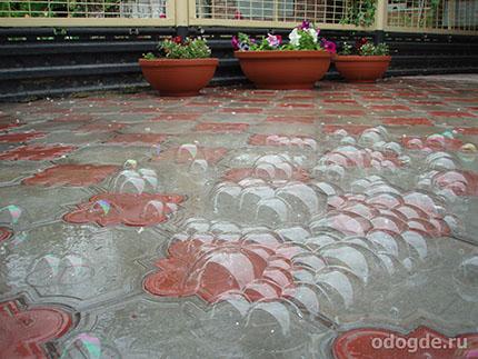 плюсы дождя