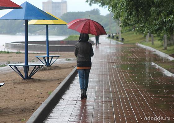 Я слушала дождь...