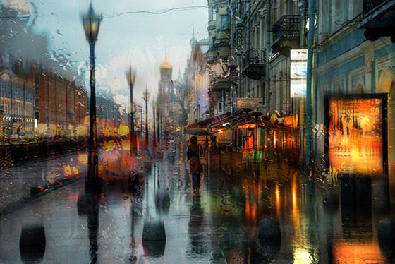 СПб и дождь