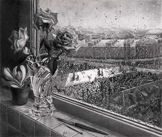 рисункок Хрусталь дождя